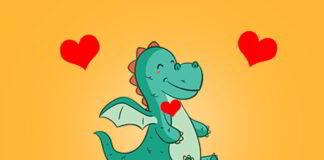Edi el dragón con corazón